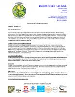 Nursery Curriculum Letter Spring 2017
