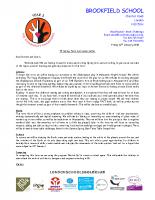 Spring Curriculum Letter 2018 Y5
