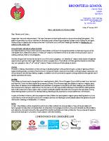 Y1 Curriculum letter Spring term 2017