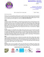 Y4 Spring 2017 Curriculum Letter