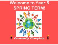 Y5 curriculum presentation spring 2017