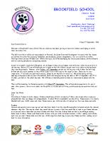 YR Curriculum Letter Sept 2016