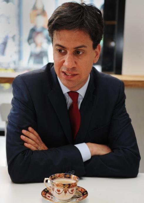 Tea with Ed Miliband Image