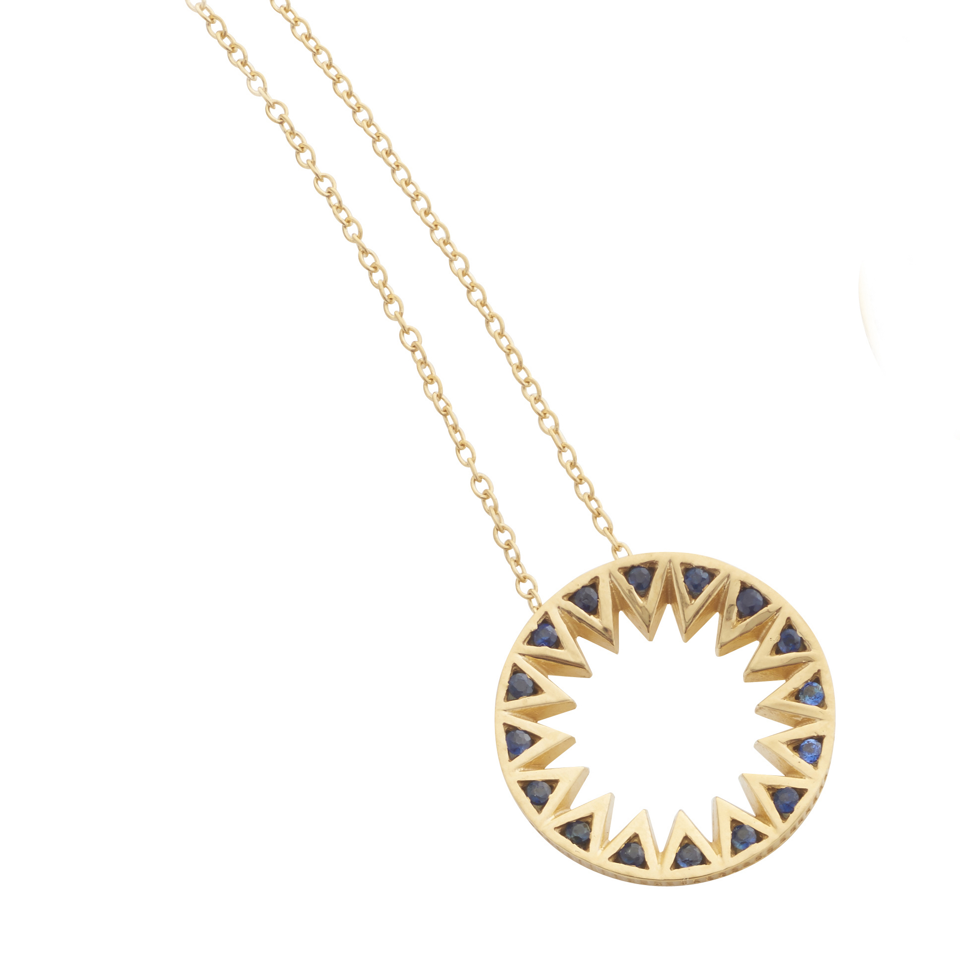 Taxila Pendant by Flora Bhattachary RRP £470 Image