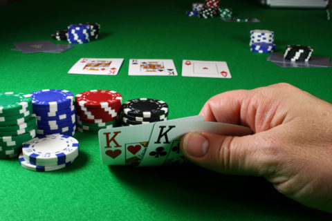 Poker evening AT YOUR HOME with professional croupier for up to 9 players Image