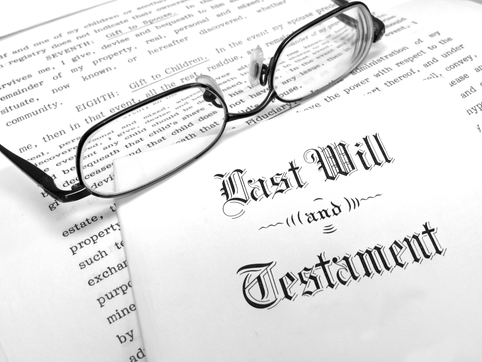 1 hour session with professional lawyer (Berard & Lovell) on making a will Image