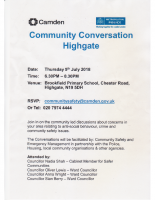 Highgate Community Conversation