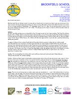 Y3 Curriculum Letter Autumn 2018-2019