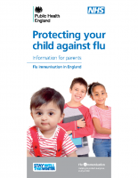 Protecting your child agaisnt Flu – NHS LEAFLET