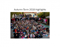 Autumn Term 2018 Highlights