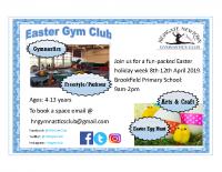 Easter Gymclub flyer2019