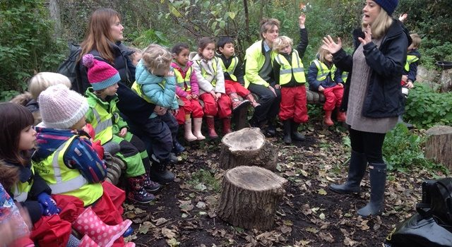 Forest school feedback