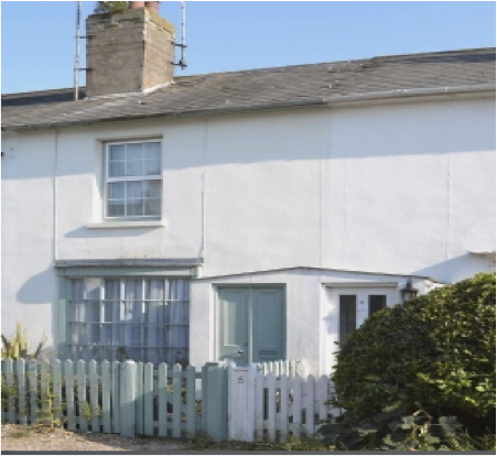 Stay in cottage in Deal, Kent