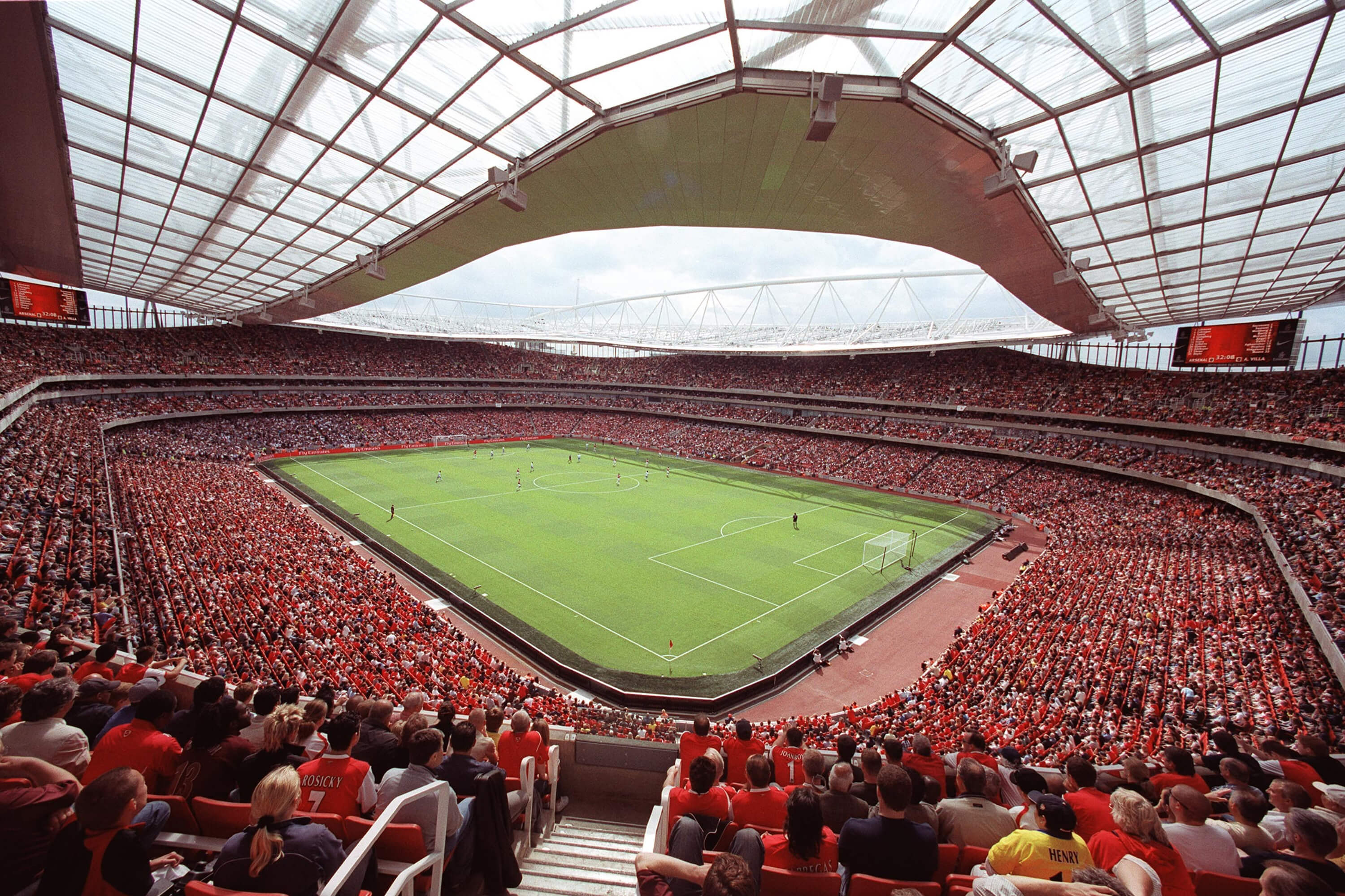 Two tickets to see Arsenal at Emirates stadium