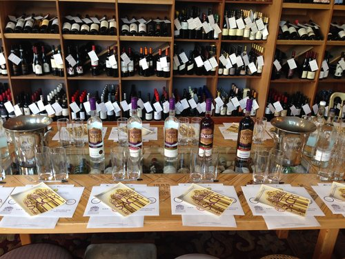 Theatre of Wine wine tasting for up to 6 pairs