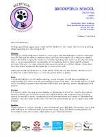 Curriculum Letter Summer 2018 YR