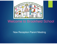 New Reception Parents Meeting PRESENTATION July 2018 updated