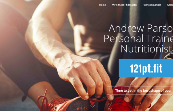 2 Personal training sessions with Andrew Parsons