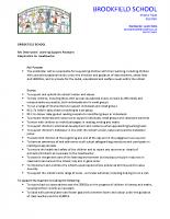 Learning Support Assistant – Job Description Spring 2020