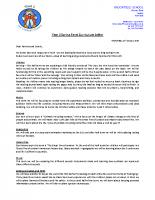 Y2 Curriculum letter – Spring 2020