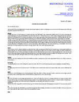 Y5 Curriculum Letter – Spring 2020