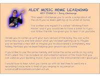 Alex song challenge