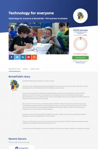 PTA: computer fundraiser